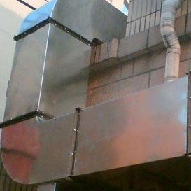 角铁(钢)法兰风管